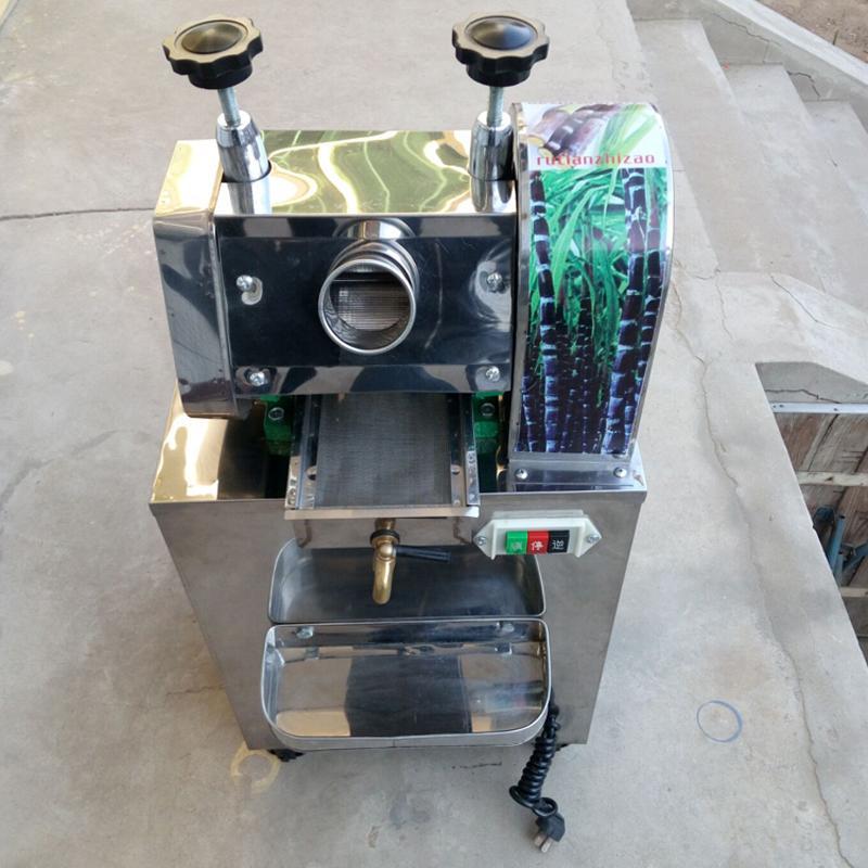 Ticari şeker kamışı sıkacağı makinası Yeni Profesyonel Yapımı Şeker Kamışı Suyu Fabrikası Fiyat
