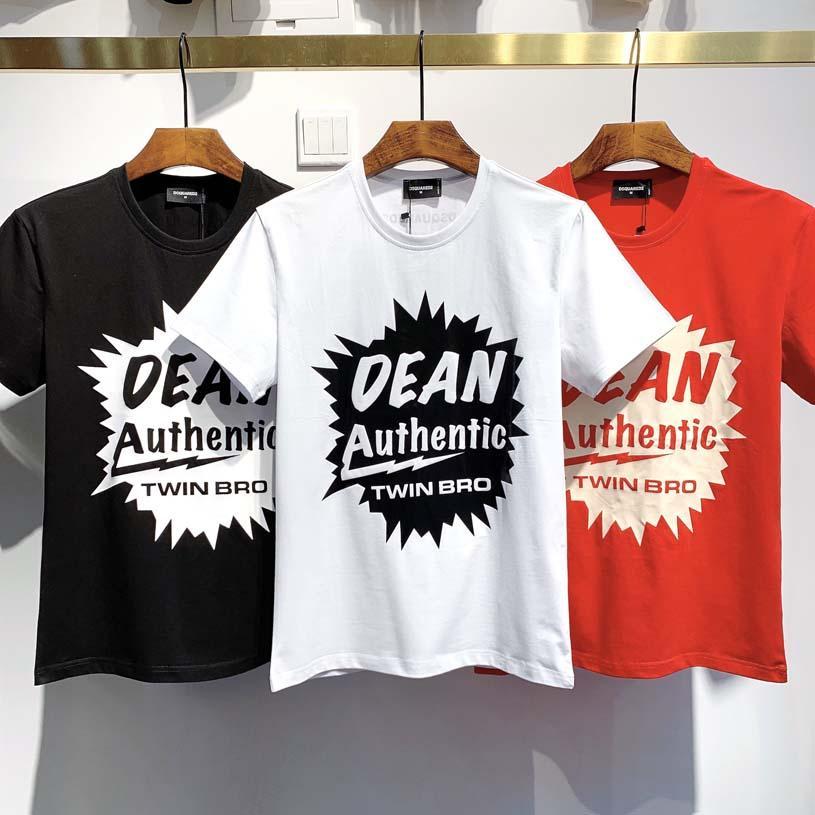 T-Shirts2020 Nuevo cráneo de la manera ocasional de los hombres de los rhinestones de los hombres de pantalla de seda T-camisa SHIRT100% camiseta de algodón tamaño XXXL de la UE.