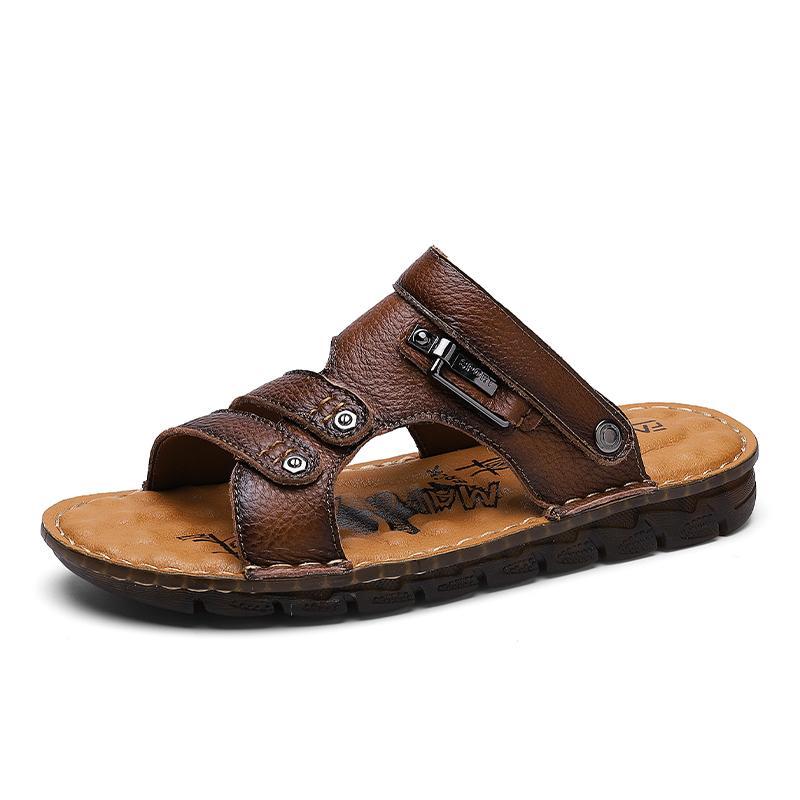 2020 sport per esterno sandali de piel da romanas sandali sandalia estate cuoio romano cuoio Sandali uomo della sicurezza zandalias