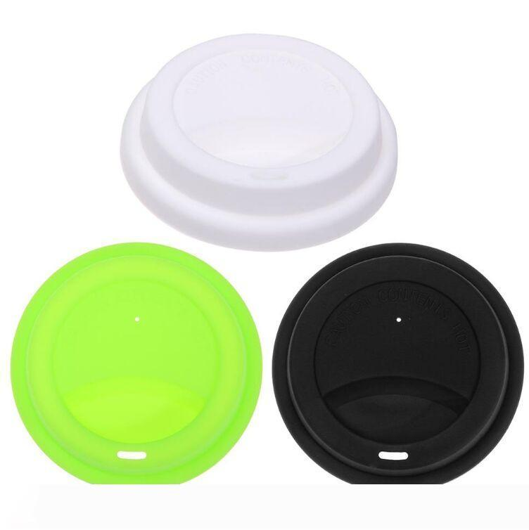 Silicone Cute Anti-dust Glass Cup Cover Coffee Mug Suction Seal Lid Cap Tool