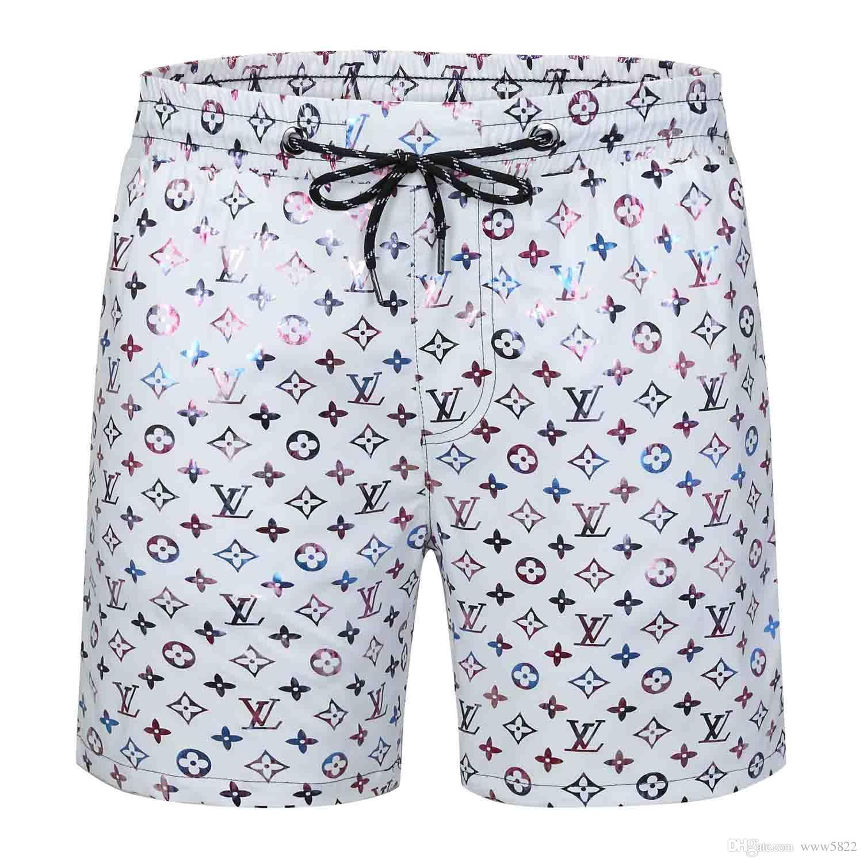 spiaggia di nylon costumi da bagno 2019SS Fashion Design D all'ingrosso pantaloncini uomini di estate dei vestiti di qualità tessuto impermeabile pantaloni nuoto pantaloncini da surf