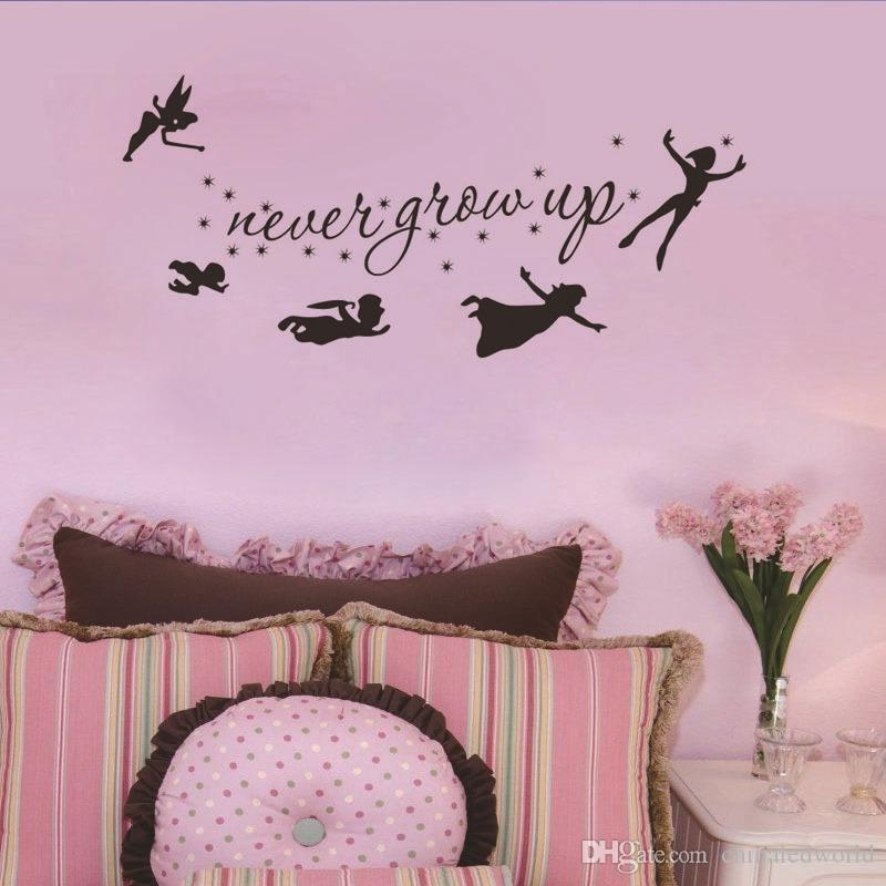 Wall Stickers Nursery'S Decor Removable Spirit e Never Give Up