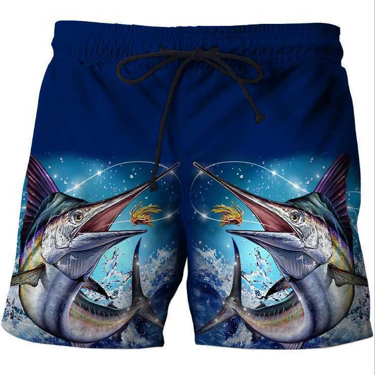 2020 hommes d'été Mode Plage Shorts Nouveau Imprimé taille élastique Pantalon court de natation Pantalons