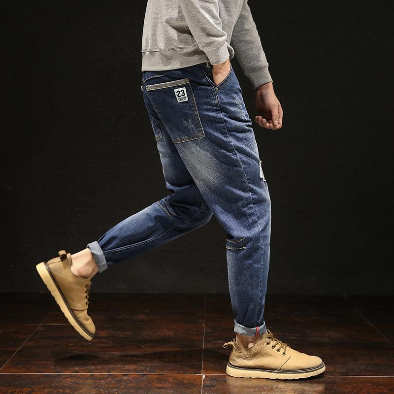 Большие мужчины джинсы