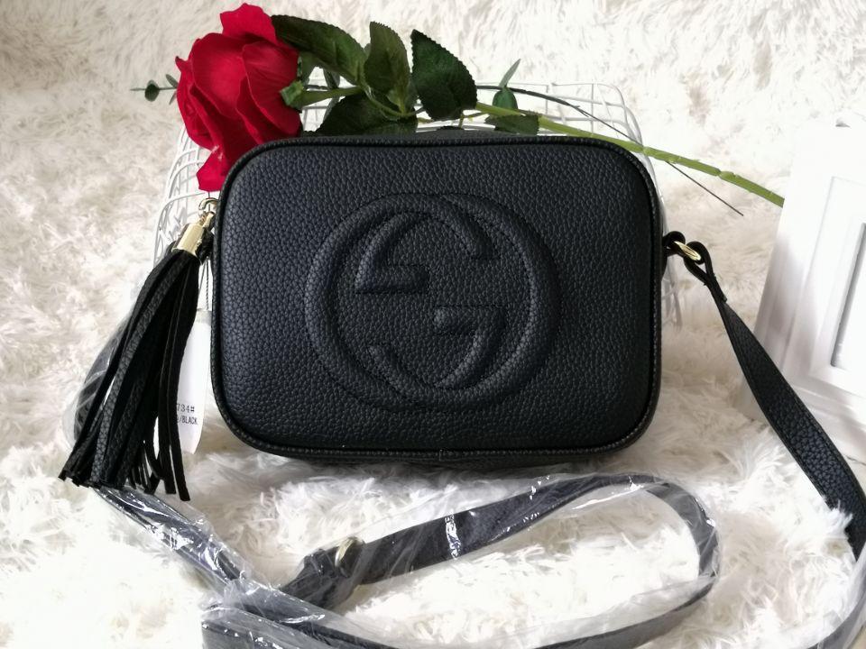 2018 borse SOHO DISCO sacchetto della nappa Genuine Leather borse cerniera spalla delle donne della borsa della borsa di Crossbody Venite