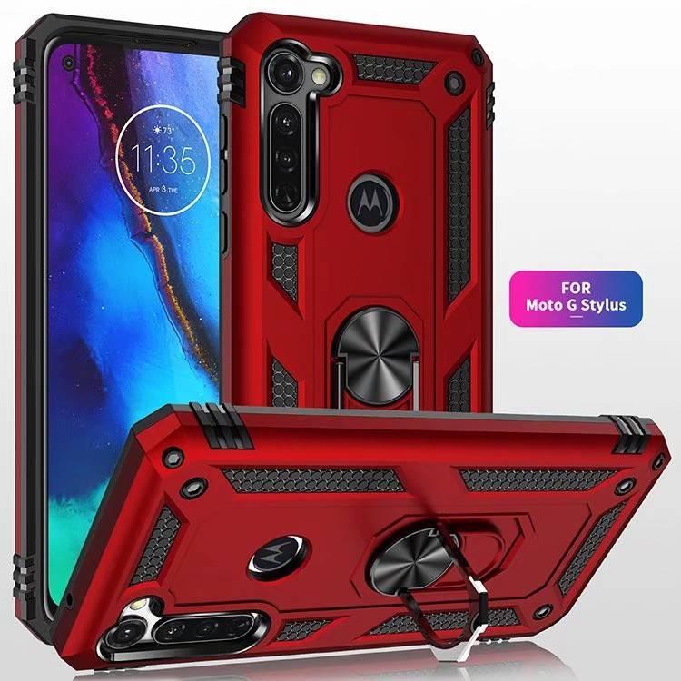 Pour Motorola Moto G Alimentation Stylus One Hyper action Vision Zoom Z4 antichocs militaire Téléphone cas pour Moto électrique G7 G8 Jouer plus E6 E5
