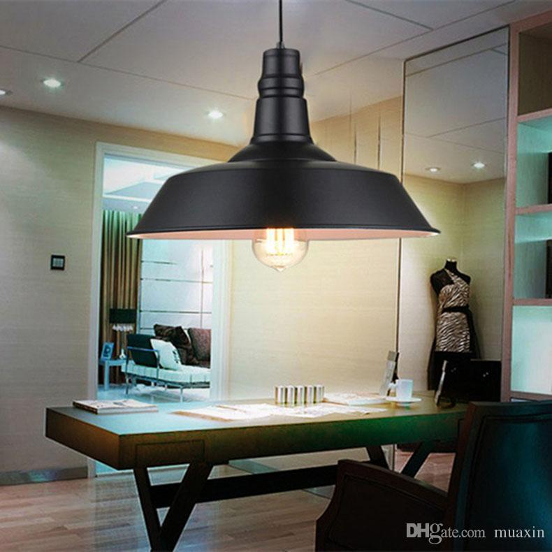 Luzes pingente modernas sala de jantar restaurante hanglamp nórdico / industrial luminária casa decration sótão lâmpada pendurada luminária