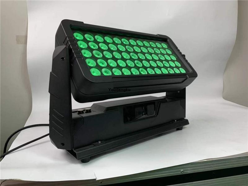 2pcs étanche LED Full Color Place Ville Up And Down Couleur Wall Washer 10W * 60pcs extérieur Ip65 RGBW 4in1 LED laveuse lumière