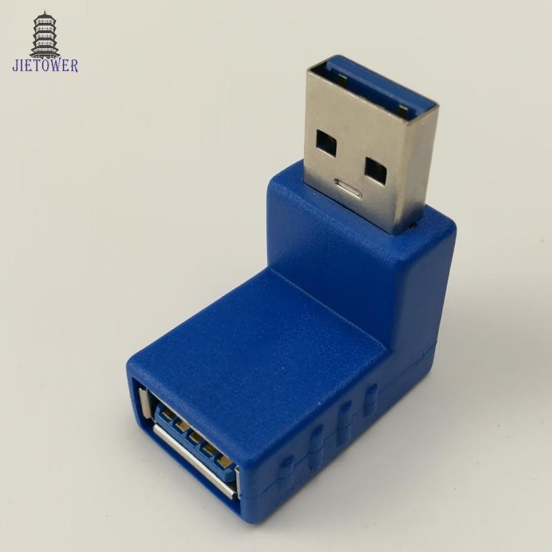 500 teile / los USB 3.0 A Stecker / Buchse auf A Buchse Adapter USB 3.0 AM auf AF Koppler Stecker Extender Konverter für Laptop PC blau