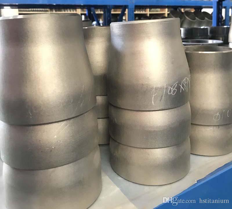 ASME B16.9 Fornecimento de Fábrica GR2 ASTM B16.9 gr2 Encaixe de Tubulação de titânio Encaixe de Tubulação Titanium para a indústria Redutor em estoque
