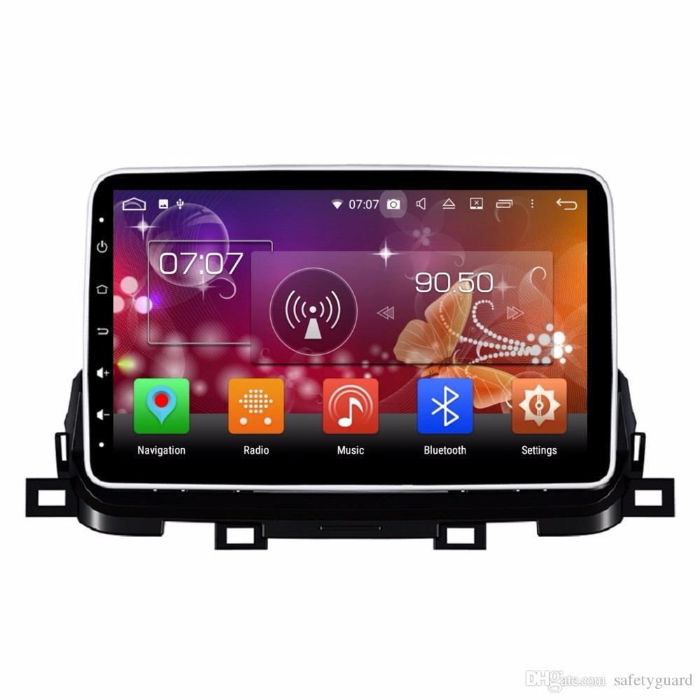 """10.1 """"기아 Sportage 2018 차량용 비디오 플레이어 블루투스 와이파이 USB 미러 링크에 대한 안드로이드 8.0 자동차 DVD 라디오 GPS 멀티미디어 헤드 유닛"""