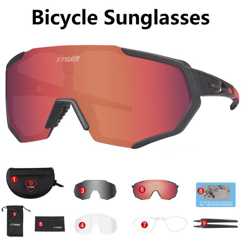 Sport Outdoor Radfahren Straße Polarisierte Brille Sonnenbrille Radfahren Fahrrad Fahrrad Eyewear Gläser Goggles Berg Kandn