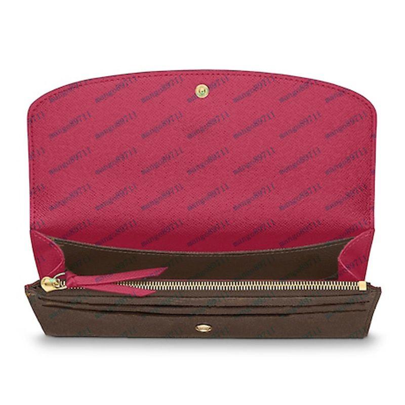 Brieftasche Frauen Brieftasche Reißverschlusstasche weibliche Designer-Mappen-Mode-Kartenhalter-Taschen-lange Frauen-Tasche mit Box