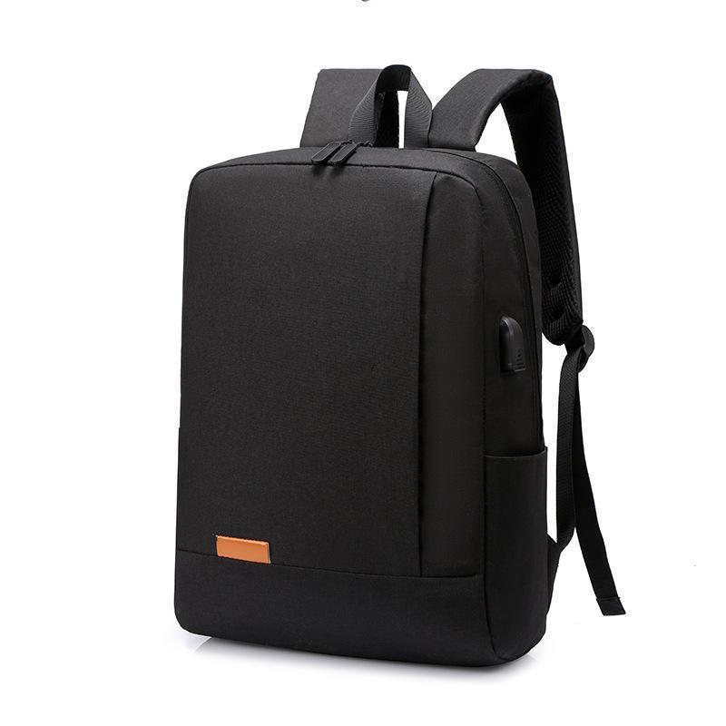 Fermuar Bilgisayar Çantası Sırt Çantası Hediye Casual Sırt Çantası Erkek ve Kadın USB Öğrenci Okul Çantası Açık Macbook Laptop Çanta