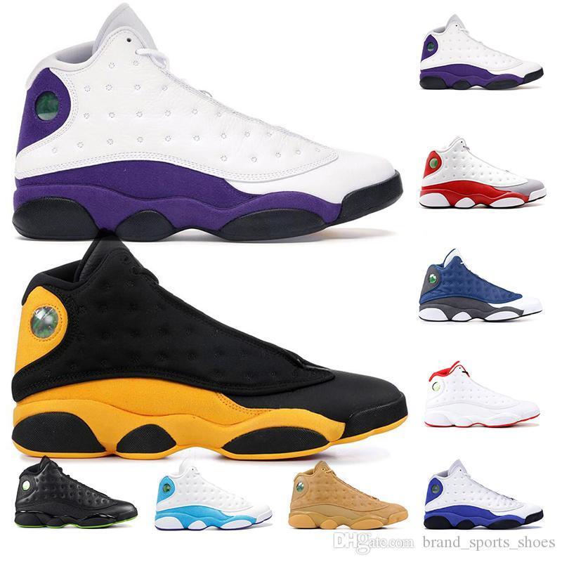 13 Bred Chicago Flint Atmosfer Gri Erkekler Kadınlar Basketbol Ayakkabı 13s He Got Game Melo DMP Hiper Kraliyet Sneakers