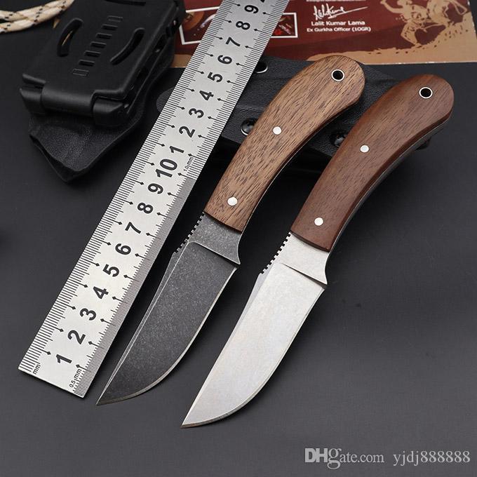 düz taktik bıçak EDC itme BM176 Bıçaklar Yeni Winkler Mini Birlik Ordusu bıçak 80CRV2 çelik bıçak Açık av sağkalım bıçağı sabit