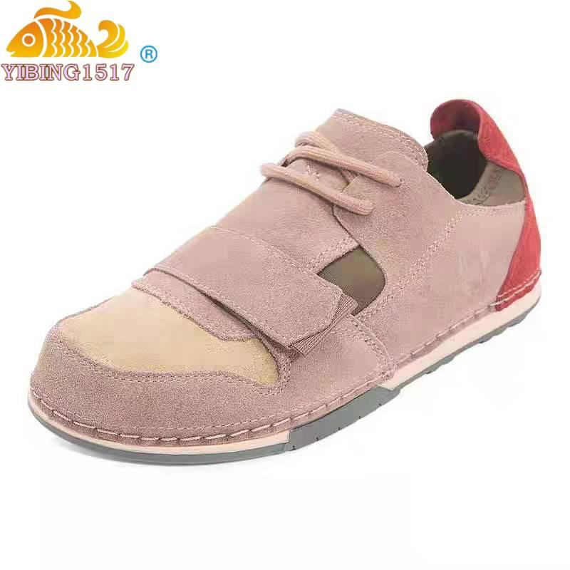 New Mulheres Calçados Ladies Leather Flat Shoes Mulheres Outdoor Walking Sneakers Mulheres sapatos casuais Zapatos De Muje Plus Size 36 ~ 46