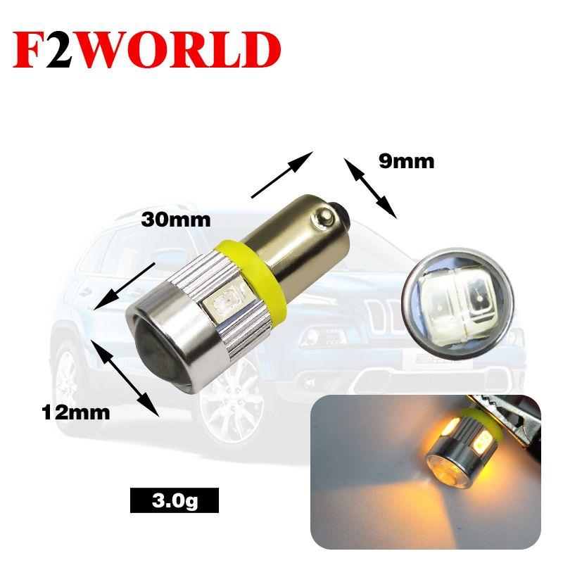 2 шт Завод Цена Canbus AC 6.3V 12V 5630 6SMD BA9S BAX9s Wedge LED для Авто Задний индикатор Tail Light Lamp Bulb