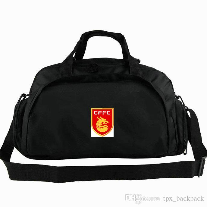 Borsone Fortune Cina Hebei FC tote CFFC dragon Zaino da calcio zaino Borsa da calcio bagaglio Sport spalla borsone Emblem pacchetto fionda