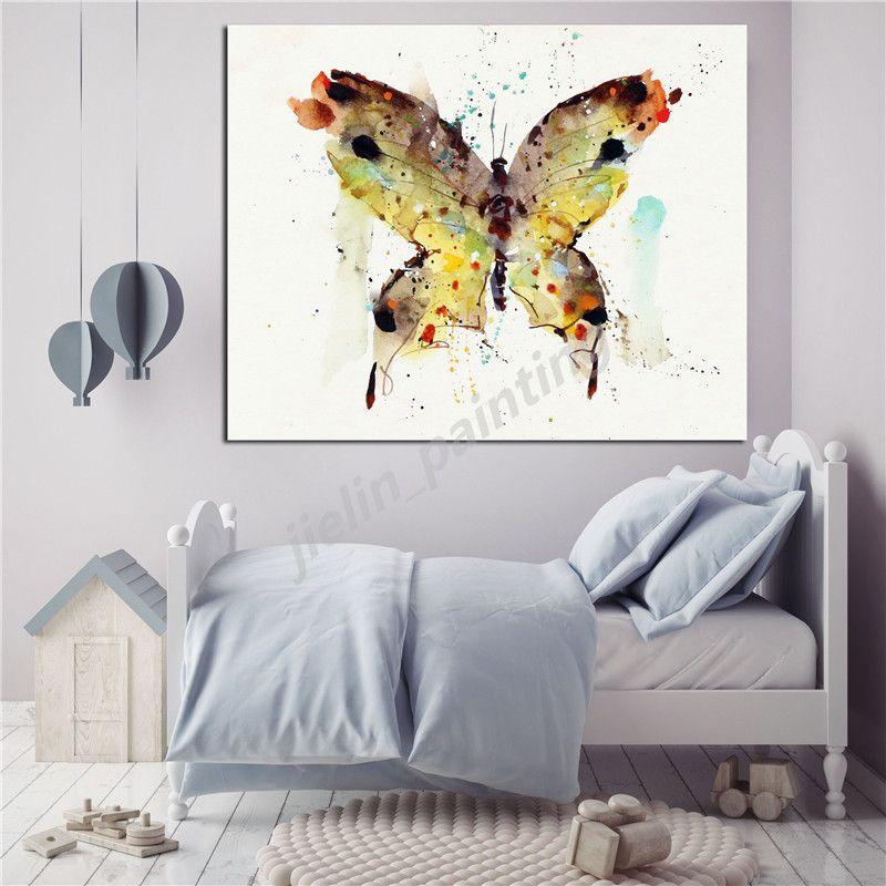 Gift ideas Slim wallet Paper Wallet Art Butterfly artwork Gift for her Butterfly Watercolor Artwork