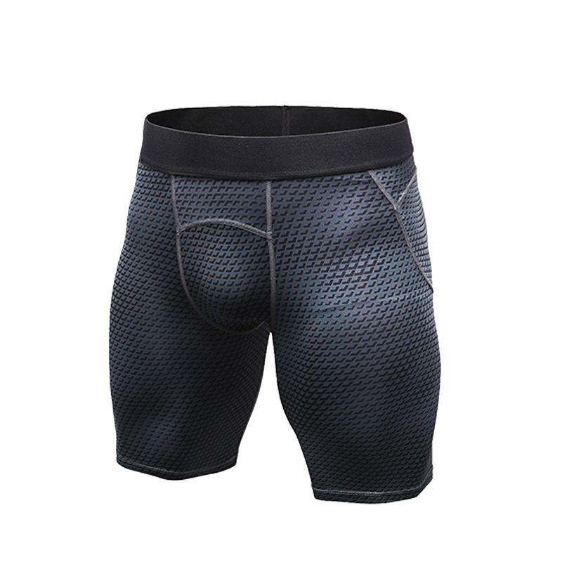 Pantaloncini da corsa Uomini Sport Jogging Pantaloncini Fitness Compressione Quick Dry delle ghette ginnastica da uomo Collant Shorts Sport Palestre Pantalone corto uomini T200605