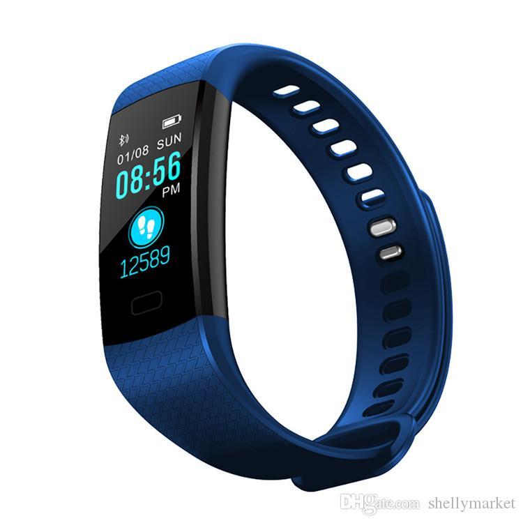 Bande À Puce Watcher Étanche IP67 Bluetooth Sport Bracelet étape surveillance Fitness Tracker cadeau Produit Compatible avec iphone android