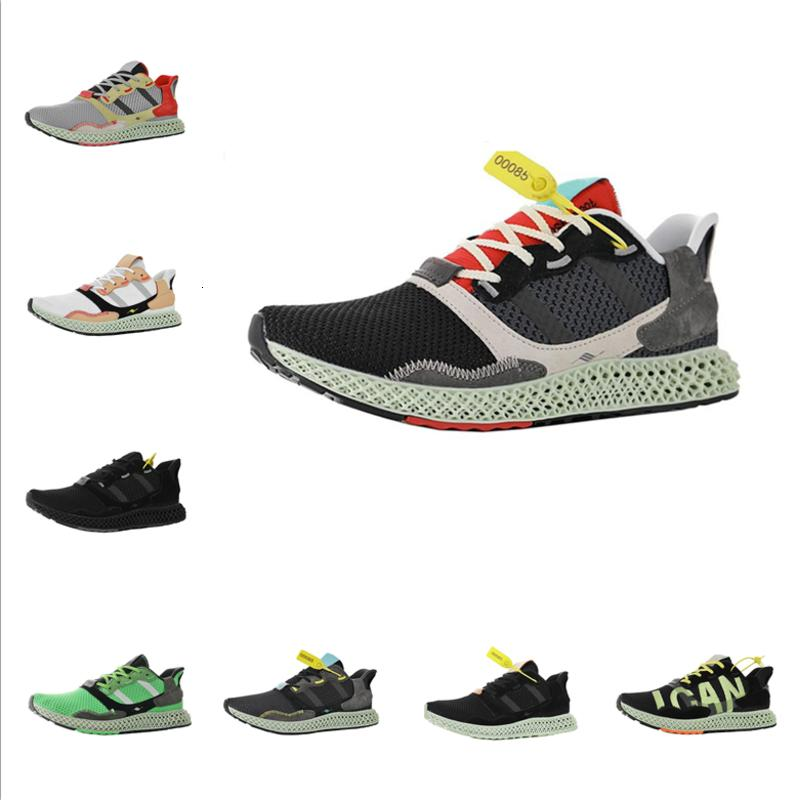 высокое качество обучения мужская обувь мужская babysbreath Futurecraft running sprots shoe ZX 4000 4D EUR 39-46