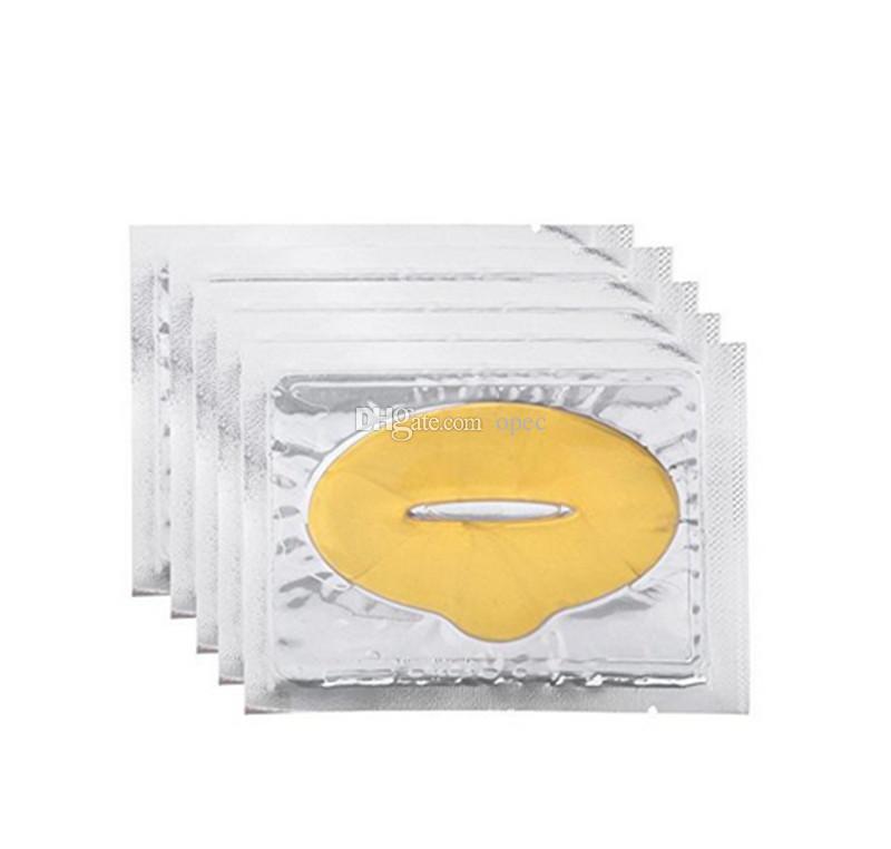 2019 New Hot Moisture Lip Masks Crystal Collagen Nano Gold Lip Mask Downplay Corneous Moisturizing Lip Mask Lips Care