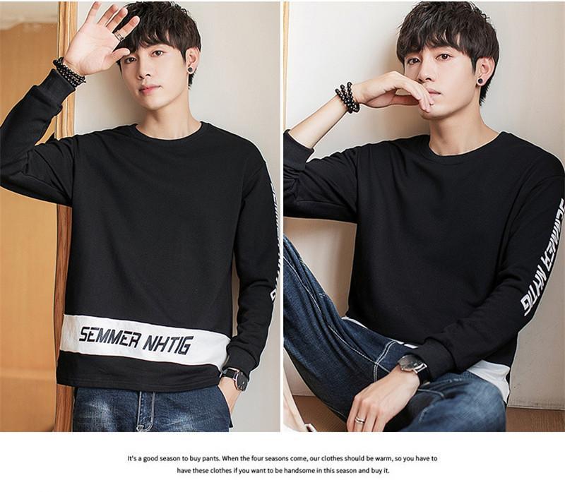 Lettre Designer Hommes Printemps Hoodies Imprimé couleur contrastée Homme Sweat à capuche Taille Plus Vêtements Homme