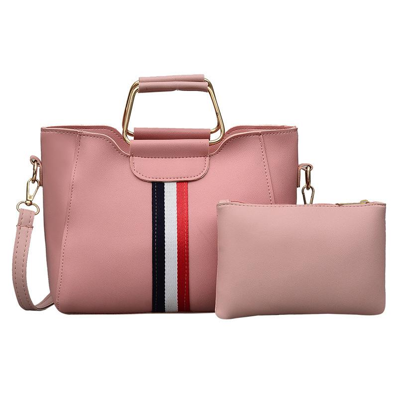Distinctive2019 Colour Handbag Ma'am Bar Child And Mother Iron Hold Messenger Single Shoulder Package