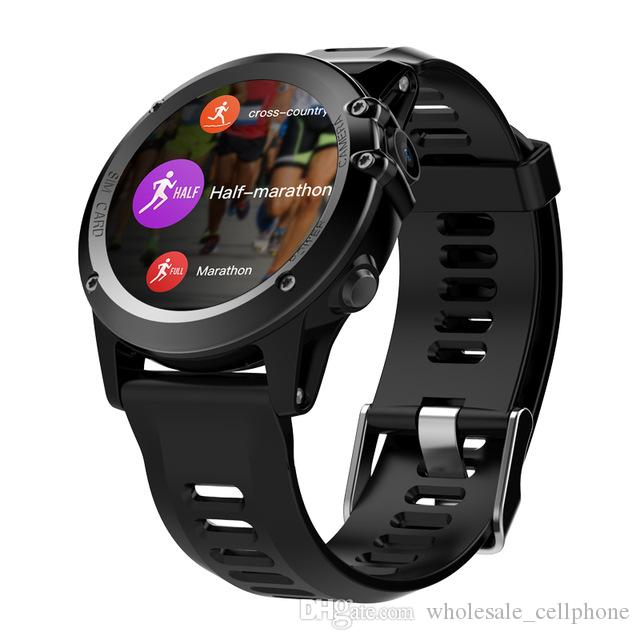 "Reloj inteligente GPS Bluetooth 4.0 WIFI Reloj inteligente de pulsera IP68 a prueba de agua 1.39 ""OLED MTK6572 3G LTE SIM Dispositivo portátil reloj para iPhone Android"