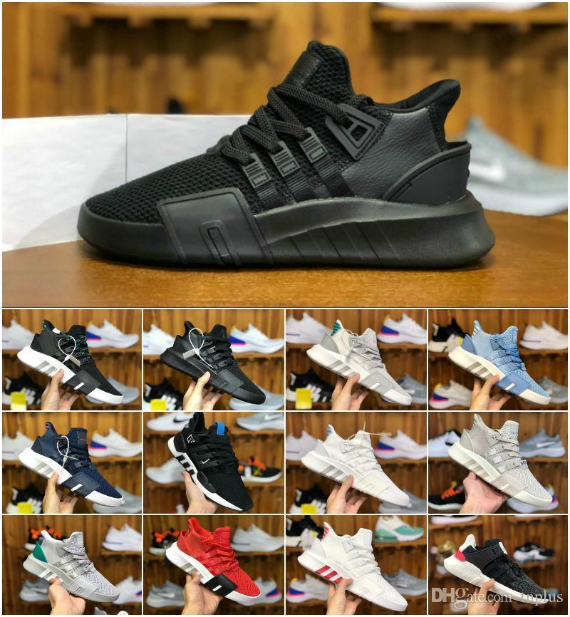 2019 New EQT Bask Support Basketball Mid Mens Running Shoes Cheap EQTADV Chaussures Designer Women Future 93 17 Trpile Black EQT Sneakers
