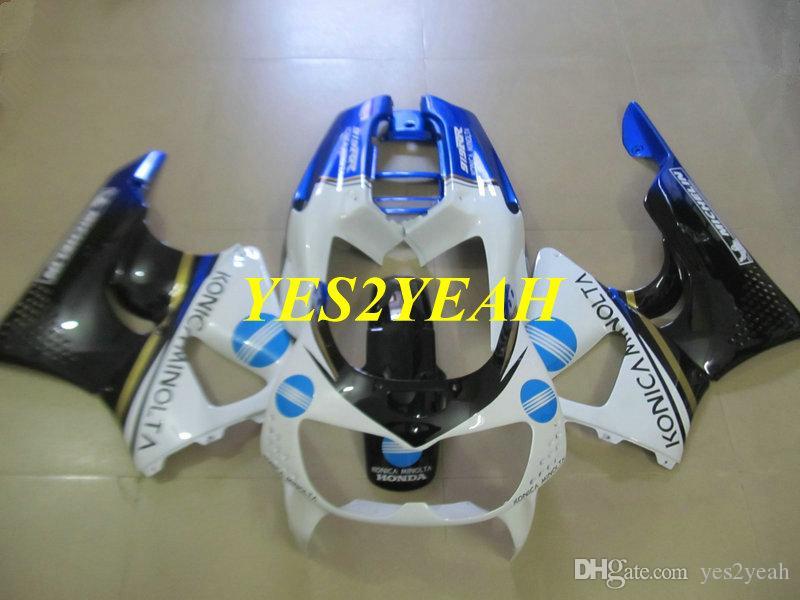 혼다 용 오토바이 페어링 바디 키트 CBR900RR 893 96 97 CBR 900RR CBR900 RR 1996 1997 화이트 블루 블랙 페어링 차체 + 선물 용품 HX22