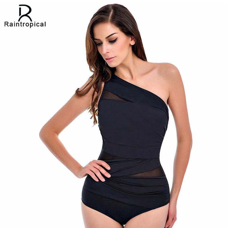 One Piece Swimsuit 2020 Sexy Swimwear Women Summer Beach Wear Mesh Zipper Beach Bathing Suits Swim Bodysuit Black White Red XXL