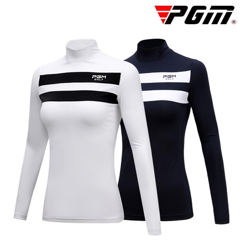 Golf Ice Crème solaire Femmes T-shirts Vêtements de sport d'extérieur Sous-vêtements à manches longues Respirant Sport talonnage Vêtements de golf D0490