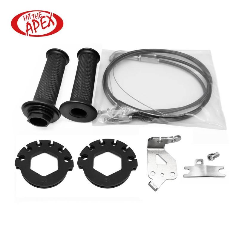 Rapida azione acceleratore completo di cavi Kit per BMW S 1000 RR 2020 S 1000 RR 15 Push Pull Throttle Assembly