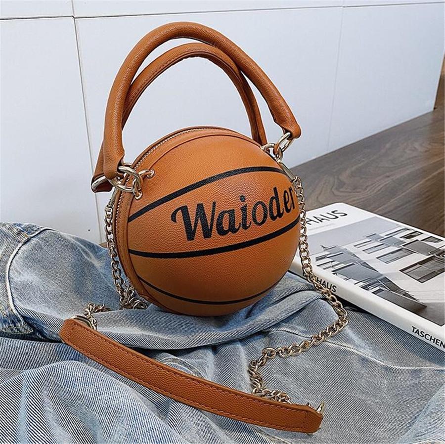 Borsa di lusso per le donne 2020 borse del basket femminile Solid Pelle Giallo Bianco Rosa Borsa a tracolla Sac à main alta Qghdas # 12096