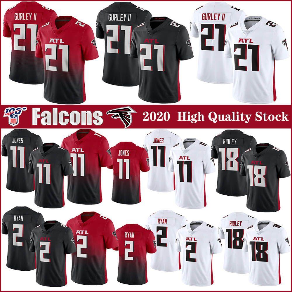 21 Todd Gurley II AtlantaFalconsFútbol Jersey 11 Julio Jones jerseys 2 Matt Ryan 18 Ridley cosido
