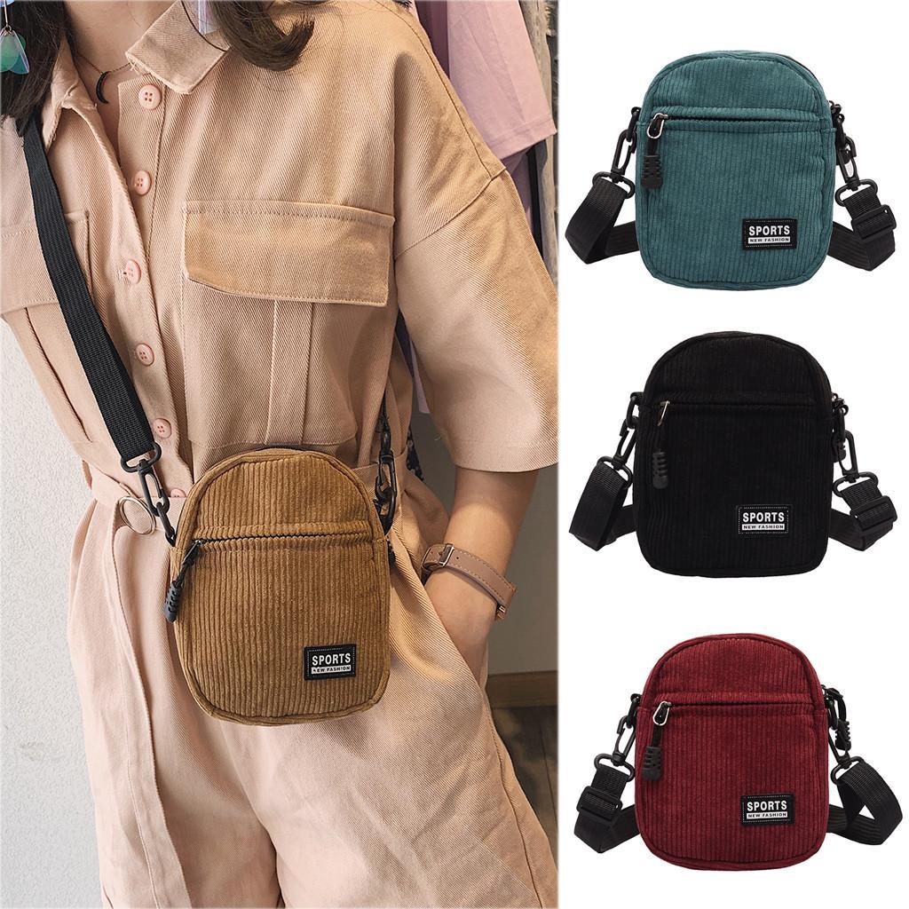 40 # Frauen-Segeltuch Versatile Fashion Messenger Bag kleine Taschen für Frauen Umhängetasche Schulter taschen Frauen