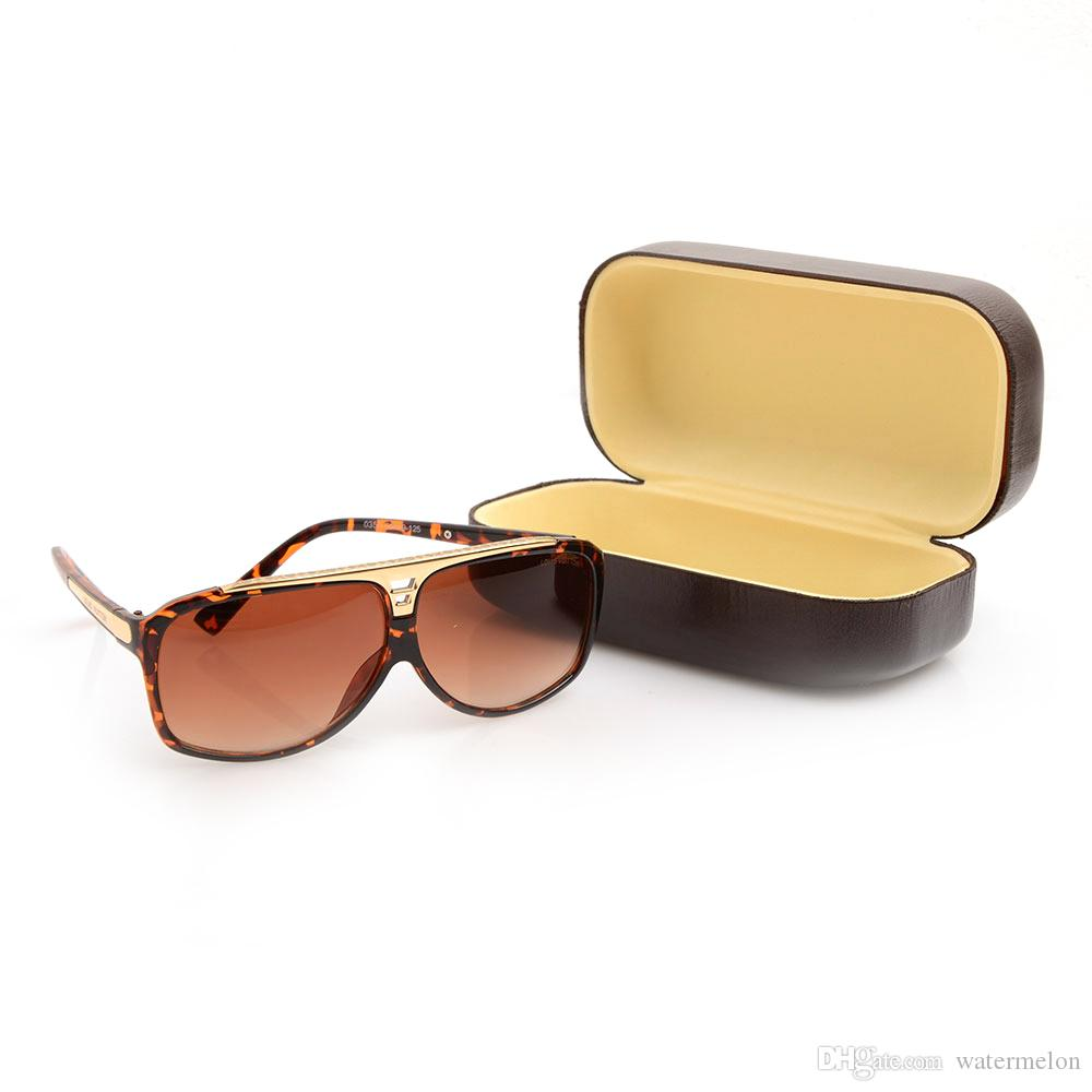 عالية الجودة L العلامة التجارية نظارات الشمس الأزياء بينة نظارات شمس مصمم نظارات شمسية للرجال glassess نظارات الشمس للمرأة مع الحالات boxs