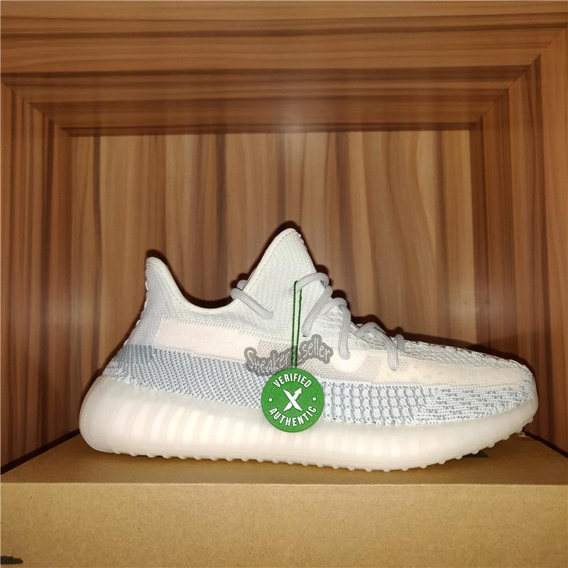 2020 Linen Flax Cinder Reflective Best Quality Kanye West Running Shoes Desert Sage Israfil Yecheil Men Women Sneakers With Box Size US4-13