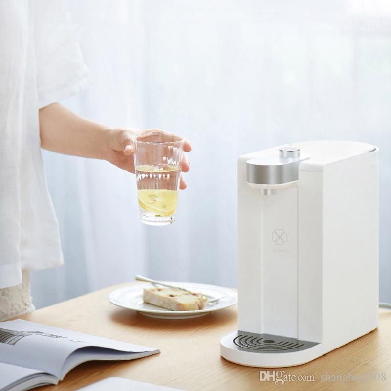 1.8L intelligente istantanea di acqua calda Dispenser Temperatura regolabile potabile Fontana doppia riscaldamento Dispenser acqua