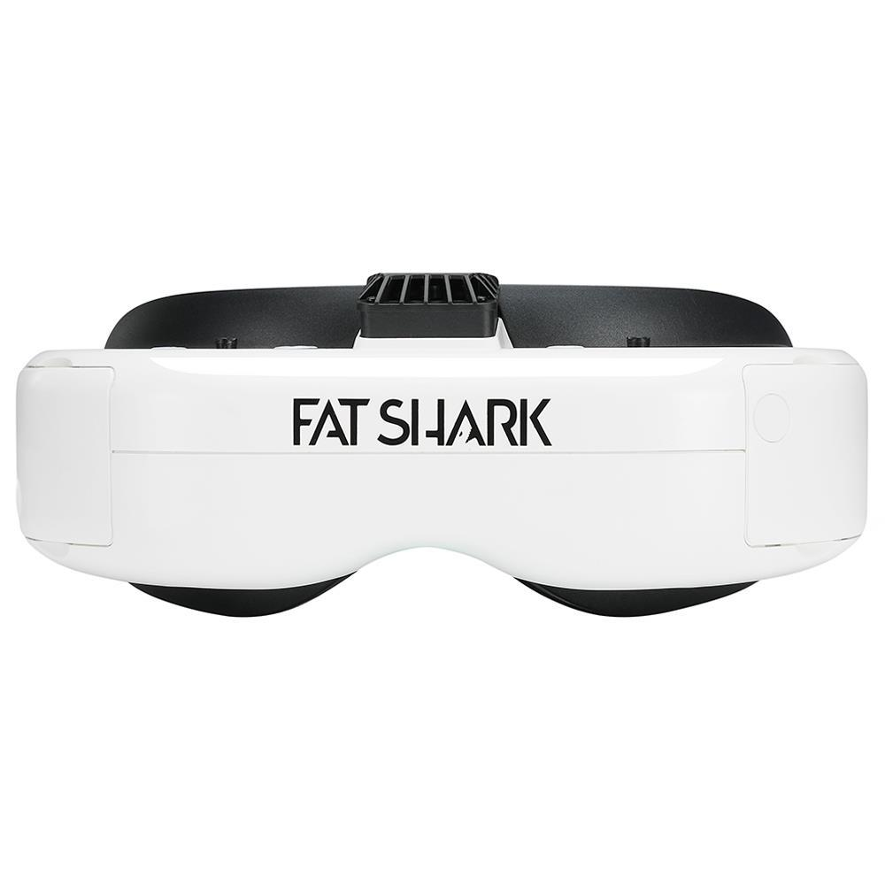 Fatshark Dominator HDO2 Headset Sony OLED Display 5.8Ghz True Diversity FPV Goggles Focus And IPD Adjustment Support DVR HDMI - White