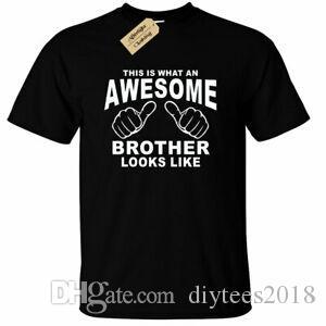Bruder T Shirt Toll Lustige Geburtstagsgeschenk Gros stampante Geschenk Stampa