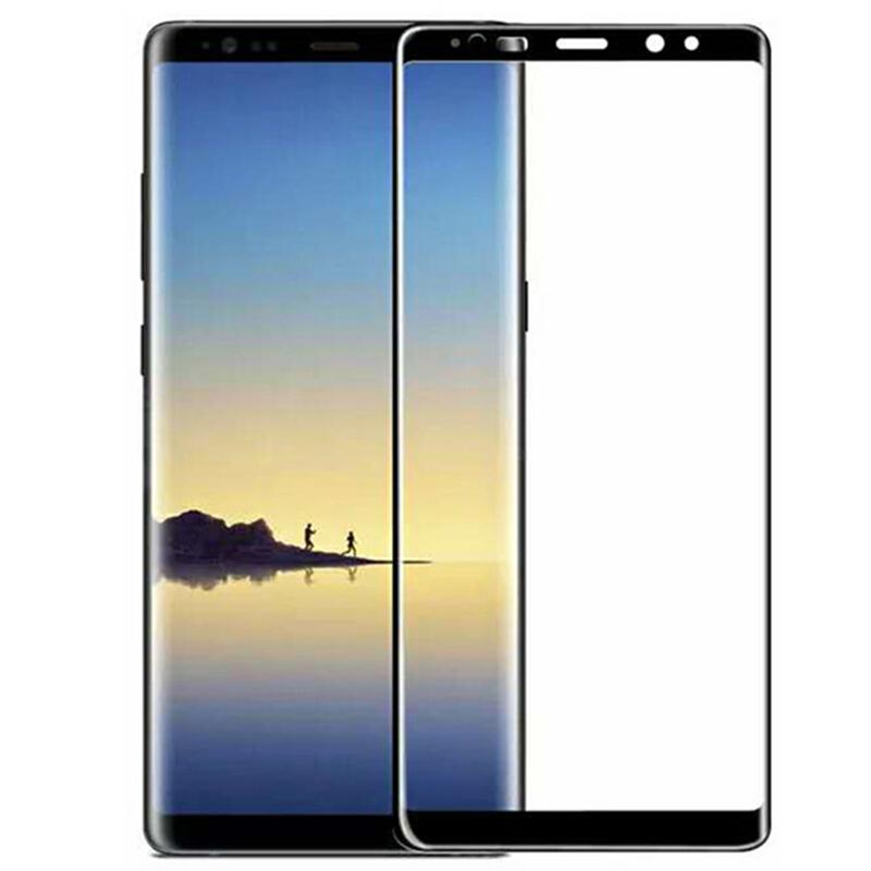 Pour Galaxy Note 9 Film de protection écran en verre trempé Protection écran pour Samsung Galaxy Note 9 8 S8 Plus S9 Plus S6 S7 Edge