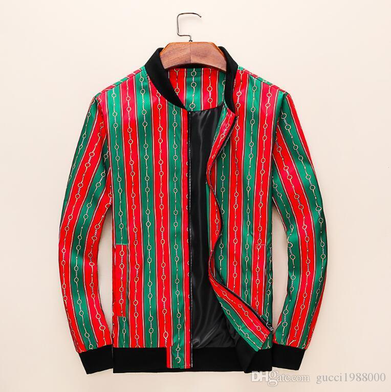 Chaqueta 2019 de los hombres de la chaqueta del polo de los nuevos hombres calientes y ocasional Hombres chaqueta con capucha medusa otoño invierno envío 13