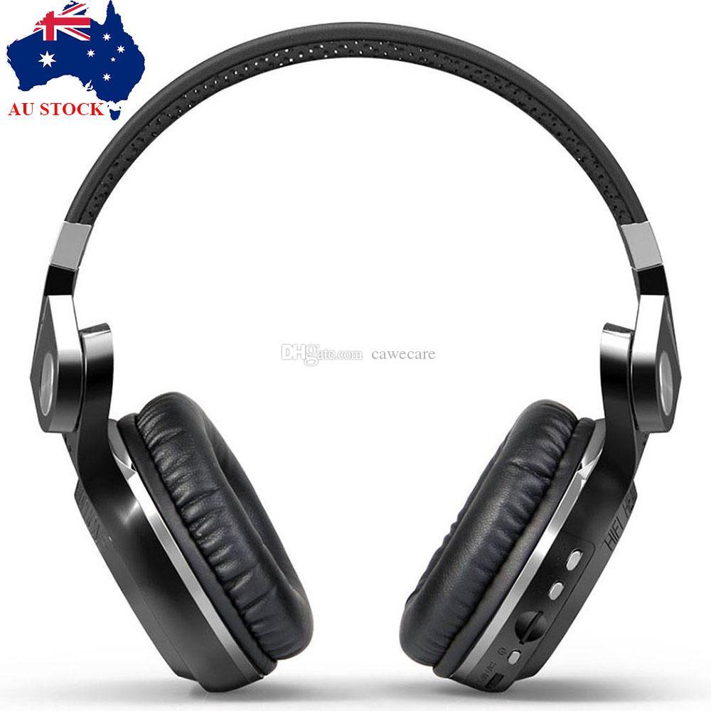 무선 헤드폰 블루투스 4.1 Bluedio T2S 스테레오 헤드셋 이어폰 블랙 C0223 AU의 재고 FAST 해운