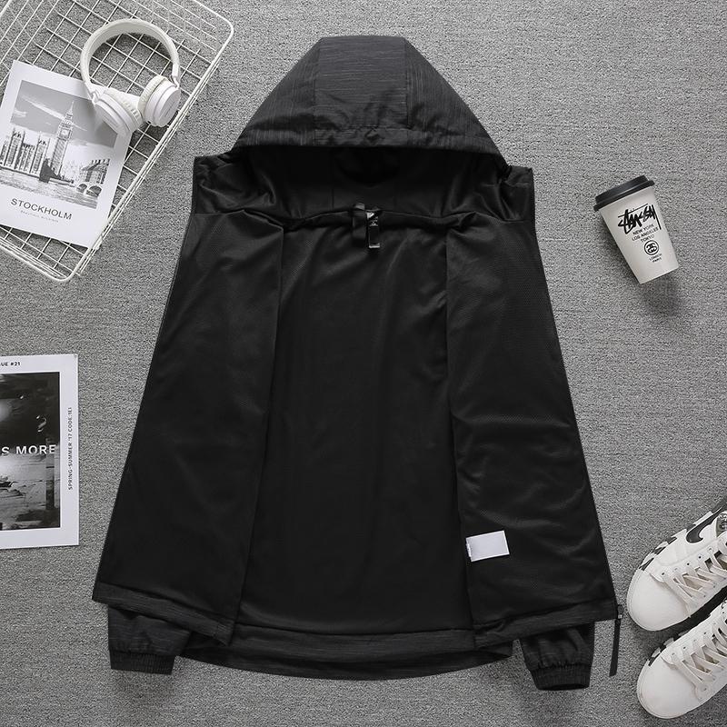 20ss Herren Designer Sweatshirt Mode Jacke mit Buchstaben Dünner Qualitäts-lässige Sportswear Mäntel Kleidung 2 Farbe Größe S-2XL Hot