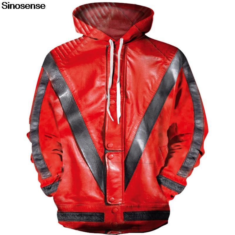 New 3D Hoodies Men Women 2019 Michael Jackson Thriller Jacket Printing Sweatshirt Hooded Streetwear Tops Tracksuit Mens Clothing