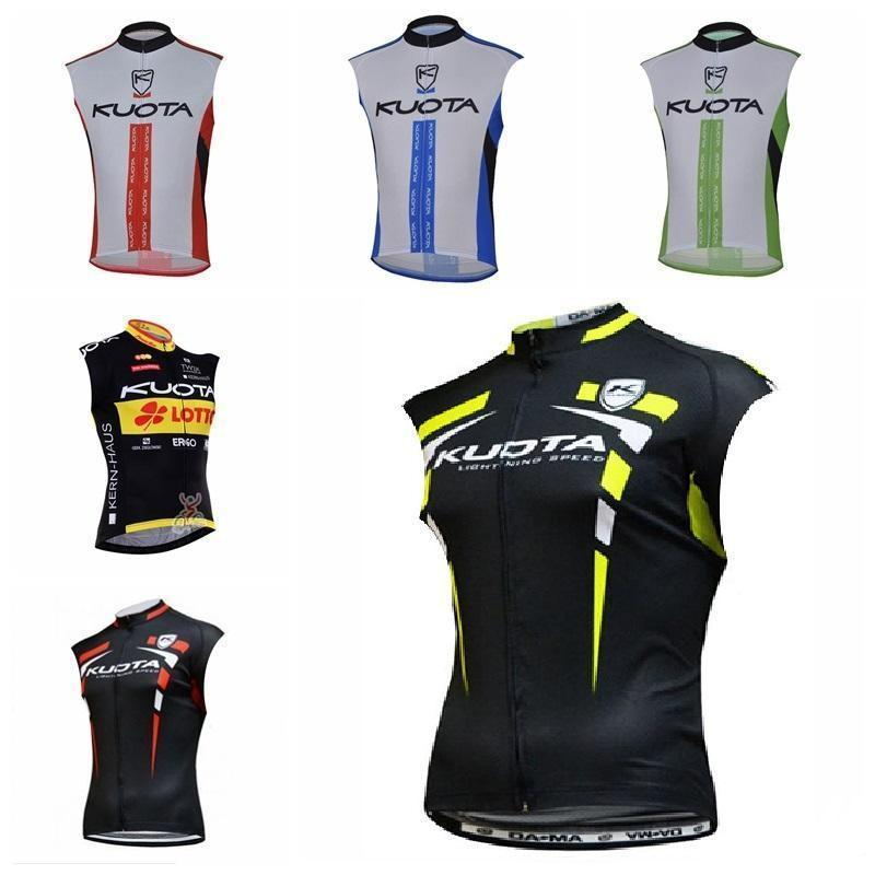 2020 New 2020 Kuota Cycling Jersey Mtb Bicycle Clothes Ropa Ciclismo Racing Bike Shirts Riding Wear Men Sleeveless Vest Sportswear 304517